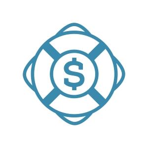 SOS-Logo life preserver